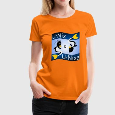 Operating System Unix and Unixes - Women's Premium T-Shirt
