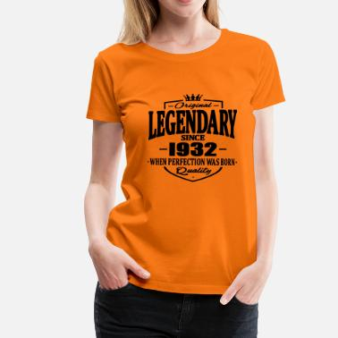 1932 Legendarisk sedan 1932 - Premium-T-shirt dam
