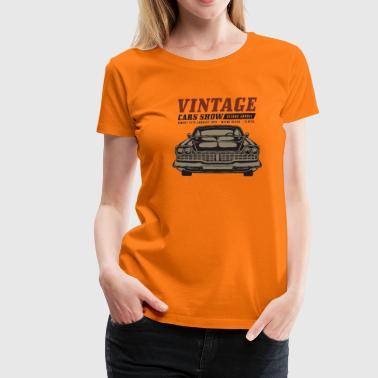 Muscle car show - Women's Premium T-Shirt