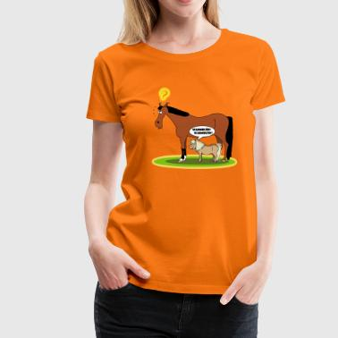 Pony Warmblöd Pony - Frauen Premium T-Shirt