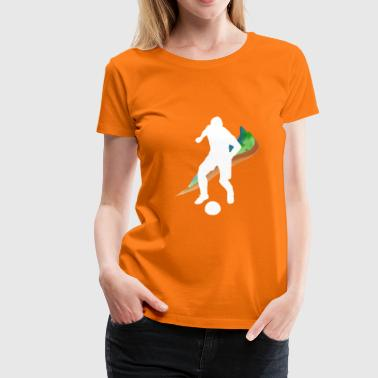 Football is everything - Women's Premium T-Shirt