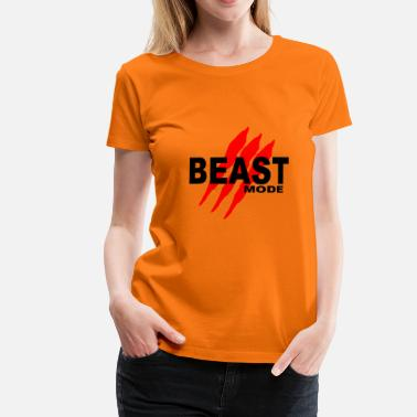 Beast Mode Beast Fashion - Vrouwen premium T-shirt