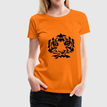 Tiger Stripes Tiger - Women's Premium T-Shirt