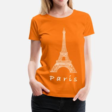 Eiffelturm Paris Eiffelturm in Paris - Frauen Premium T-Shirt