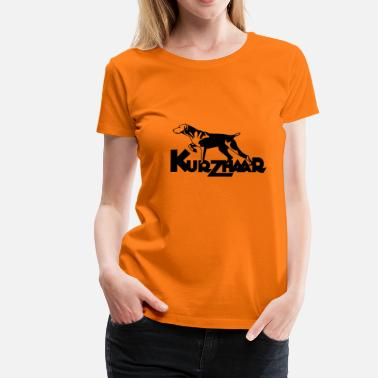 Kurzhaar kurzhaar_one_color - Women's Premium T-Shirt