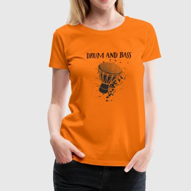 Djembe Player must have Shirt - Women's Premium T-Shirt