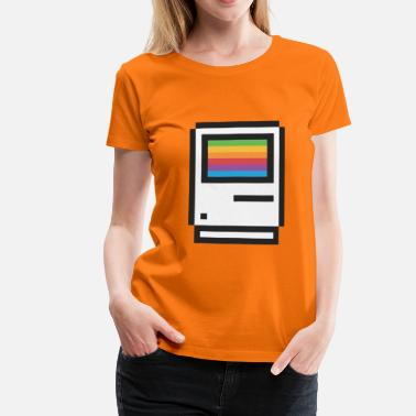 Macintosh Welcome to Macintosh - Women's Premium T-Shirt