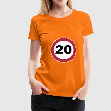 20Th anniversary 20 Birthdayshirt 3 c. - Women's Premium T-Shirt