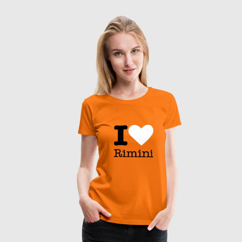 I Love Rimini - Women's Premium T-Shirt
