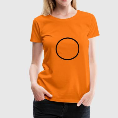 Circle Vector circle - Women's Premium T-Shirt