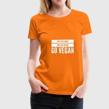Save The World Vegan save the World 7 - Women's Premium T-Shirt