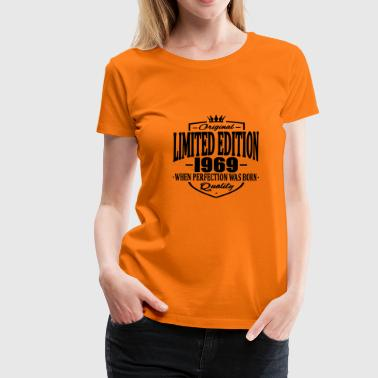 Limited edition 1969 - Vrouwen Premium T-shirt