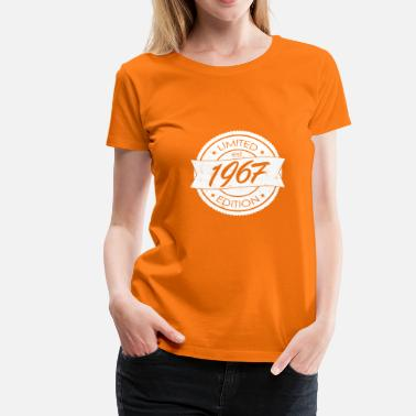 Limited Edition 1967 Limited Edition est 1967 - Vrouwen Premium T-shirt