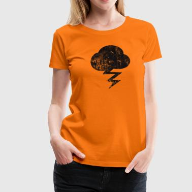 Cloud and  - T-shirt Premium Femme