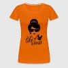 Like a i love strong hipster female boss woman mom - Women's Premium T-Shirt