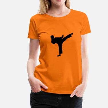 Taekwondo Martial Arts Fighter 1 - Camiseta premium mujer