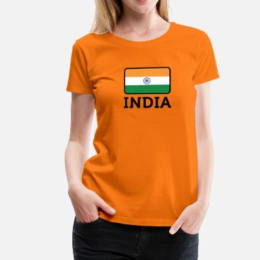 Rupee National Flag Of India - Women's Premium T-Shirt