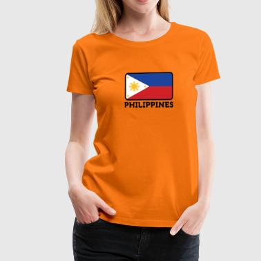 National Flag Of The Philippines - Women's Premium T-Shirt