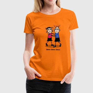 dance dance dance - couple - T-shirt Premium Femme
