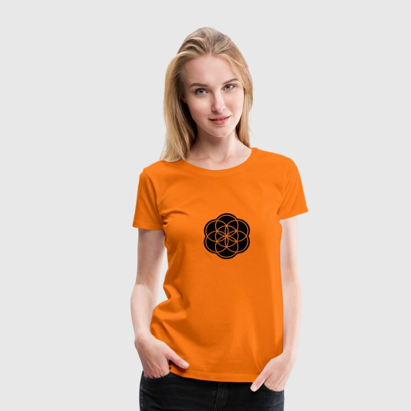 Seed of Life - Frauen Premium T-Shirt