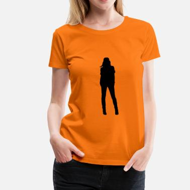 Sex Girls lady woman sexy girl sexy sex - T-shirt Premium Femme