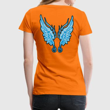 Angel Wings - Vrouwen Premium T-shirt