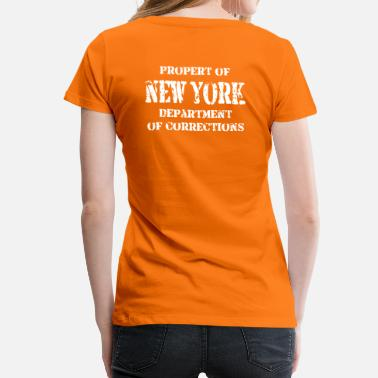 Corrections NY Correction - Women's Premium T-Shirt