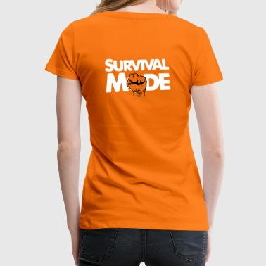Survival Mode - Vrouwen Premium T-shirt