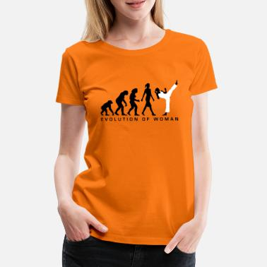 Kampfsport evolution_female_martial_art_112014_b_2c - Frauen Premium T-Shirt