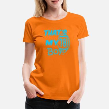 Fútbol Americano Camiseta deportiva • Fútbol americano • Regalo - Camiseta  premium mujer 2d3e2108fad