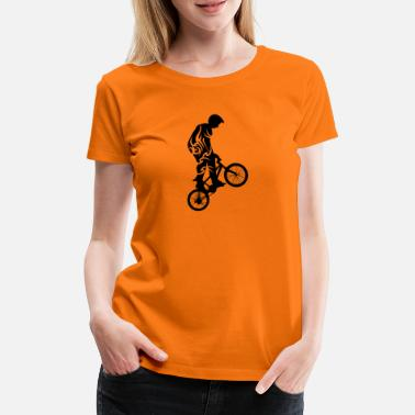 Tribal Cycling tribal de - Frauen Premium T-Shirt