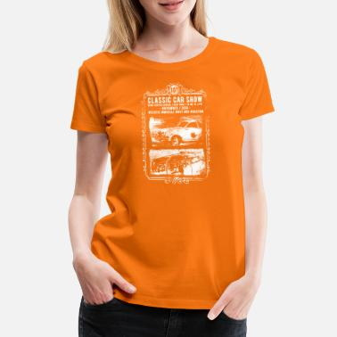 Classic Car Classic Car Show: classic cars in action! - Women's Premium T-Shirt