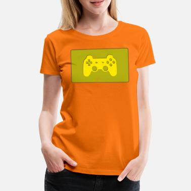 Joypad Gaming Player Joypad Idea de regalo - Camiseta premium mujer