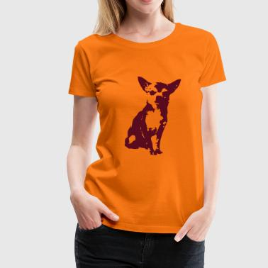 Chihuahua - Dog - Women's Premium T-Shirt