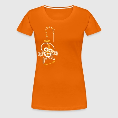 Stitched Man - Women's Premium T-Shirt