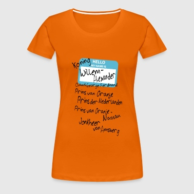 My name is ... - Vrouwen Premium T-shirt