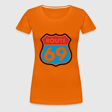 Route 69 colored Tops - Women's Premium T-Shirt