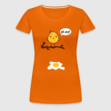 oh no! - Women's Premium T-Shirt