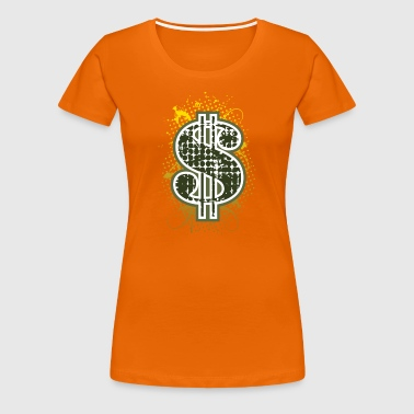 Dollar sign de - Frauen Premium T-Shirt