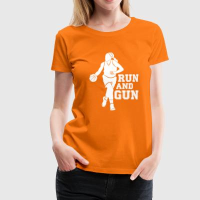 RUN AND GUN - Women's Premium T-Shirt