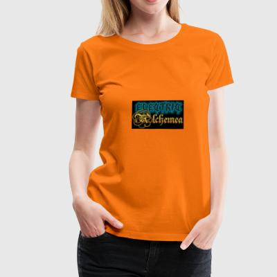 Electric Alchemea Logo IVC Zwopper - Women's Premium T-Shirt