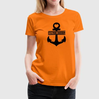 Anchor Sylter Deern - Women's Premium T-Shirt