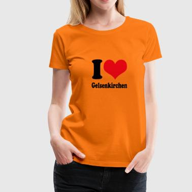 I love Gelsenkirchen - Women's Premium T-Shirt