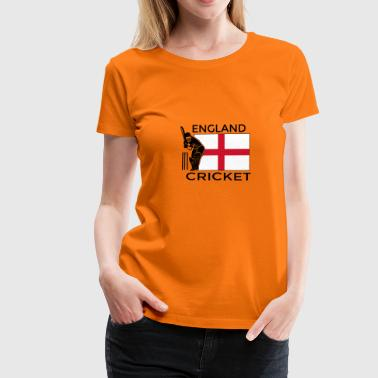 Cricket England - Frauen Premium T-Shirt