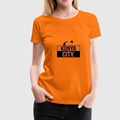 Konya City - Women's Premium T-Shirt