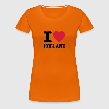 i love holland EN - Women's Premium T-Shirt
