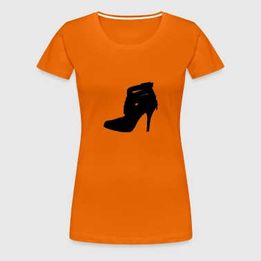 high heel - Frauen Premium T-Shirt