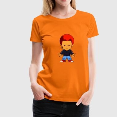 Little gangster seriefigur - Premium-T-shirt dam