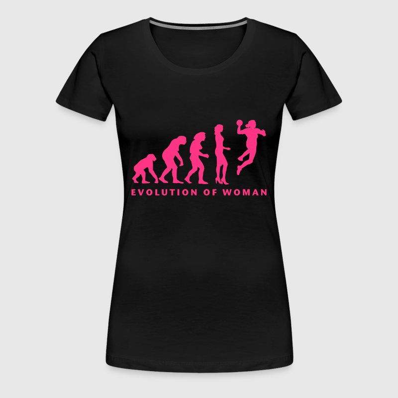 evolution_handball_spielerin_1c - T-shirt Premium Femme