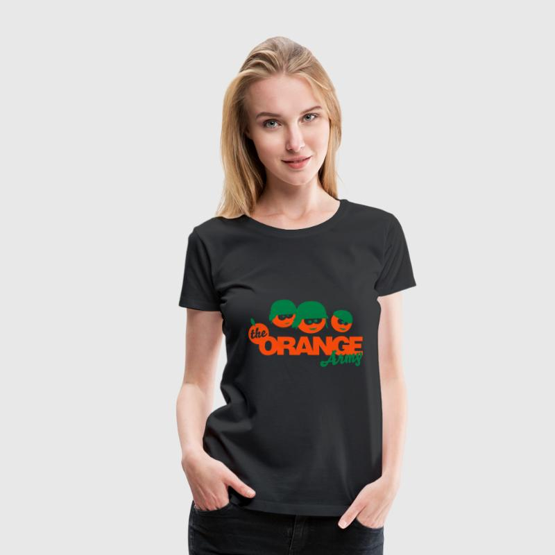 The Orange Army - Women's Premium T-Shirt